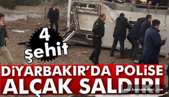 Diyarbakır'da Patlayıcı İnfilak Etti 4 Şehit