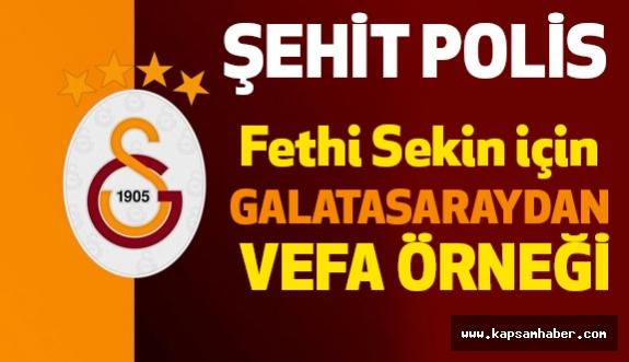 Galatasaray'dan vefa...