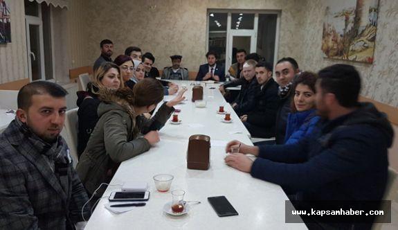 """""""Gençler Vezirköprü'de"""" projesi"""