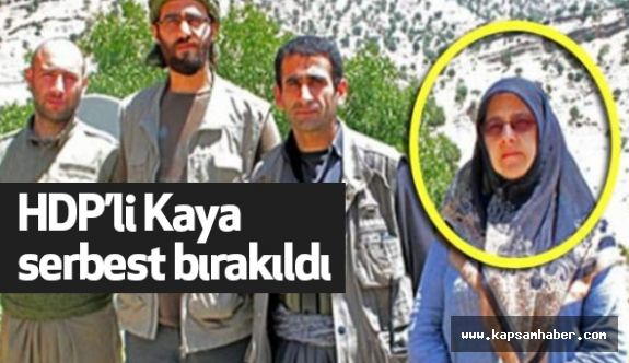 HDP Milletvekili Hüda Kaya Serbest Bırakıldı