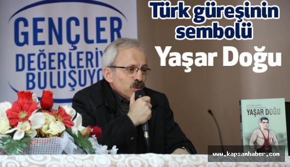İlkadım'dan Türk güreşinin sembolü Yaşar Doğu