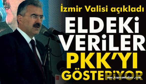 İzmir Valisi Saldırıyla ilgili konuştu