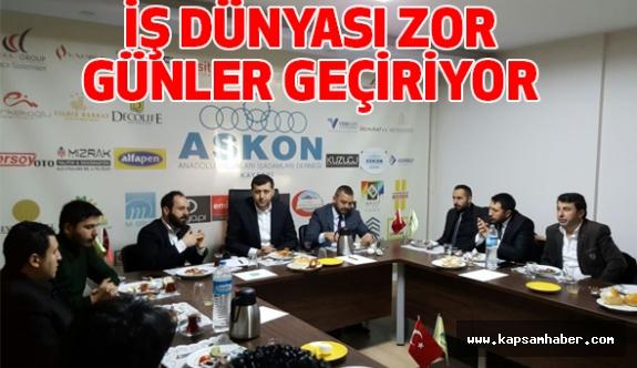 Kayseri MHP İl Başkanı Ersoy, ASKON'la bir Araya Geldi