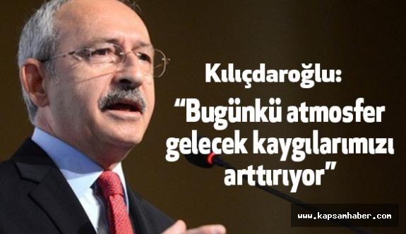 Kılıçdaroğlu: Demokrasiye katkı yapan en önemli aktörlerisiniz