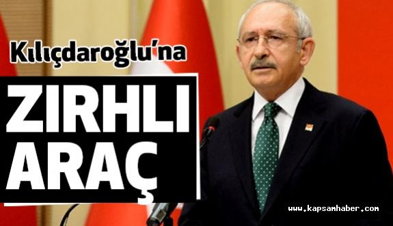 Kılıçdaroğlu'na Zırhlı Araç Tahsis Edildi