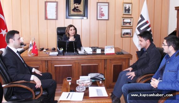 KUZKA Genel Sekreterinden TÜİK'e Ziyaret