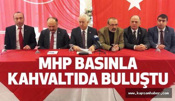 MHP'li Durmaz, Samsun'da Basınla Buluştu...