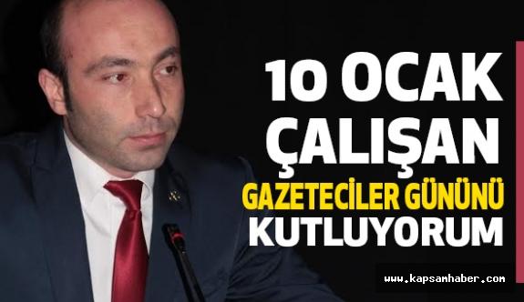 MHP'li Taner Tekin Çalışan Gazeteciler Gününü Kutladı