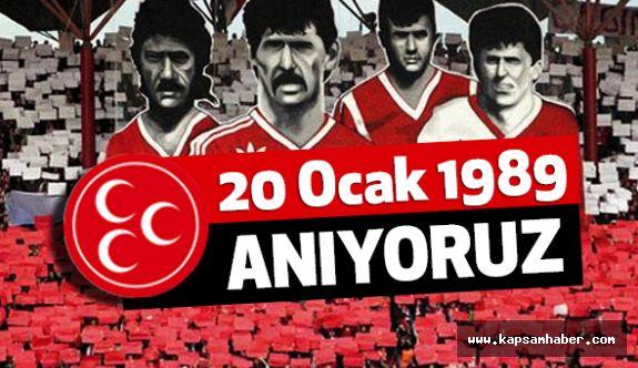 """MHP'li Tekin'den """"Samsunspor'un Kara Günü"""" Mesajı"""