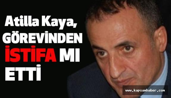 MHP Milletvekili Atilla Kaya Görevinden İstifa mı Etti?