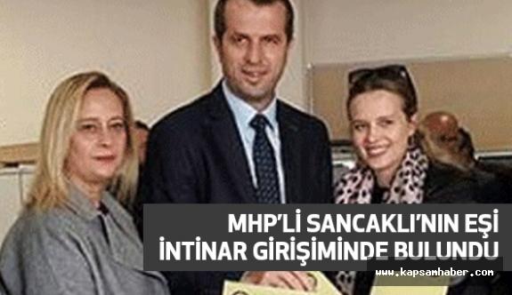 MHP Milletvekili Sancaklı'nın Eşi İntihar Girişiminde Bulundu