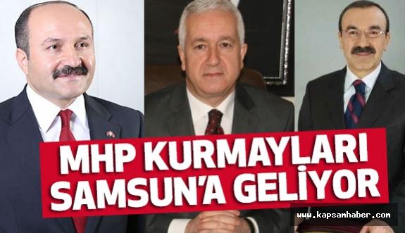 MHP'nin Kurmayları Samsun'a Geliyor