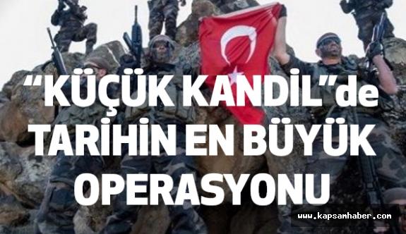 """PKK'nın """"Küçük Kandil""""ine Tarihin En Büyük Darbesi"""