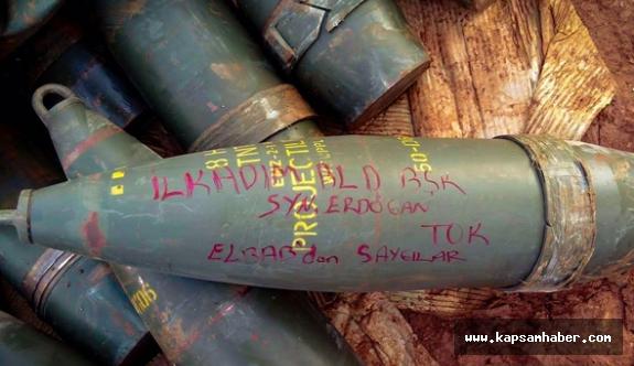 Samsunlu Asker, Başkan Tok'in İsmini Füzenin Üstüne Yazdı