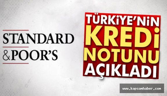 Türkiye'nin Kredi Notu Belli Oldu