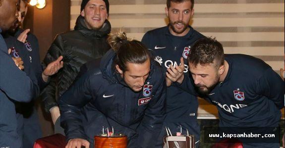 Trabzonspor'da Kutlama
