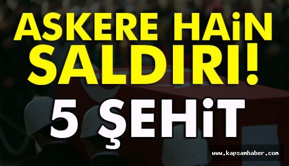 Türk askerine IŞİD saldırısı 5 Şehit