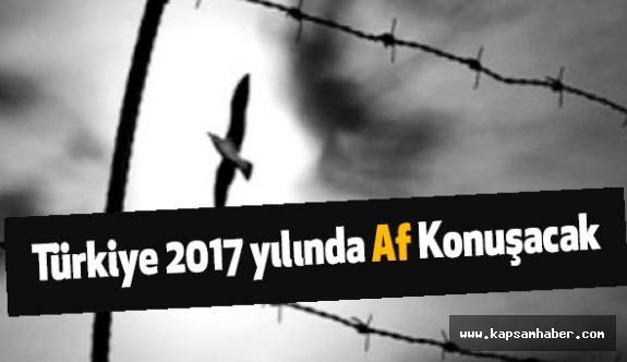 Türkiye 2017 yılında Af Konuşacak
