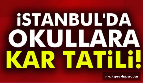 Türkiye'de okullara kar tatili