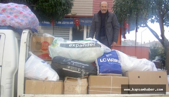 Türkiye Kamu-Sen'den Halep Yardımı