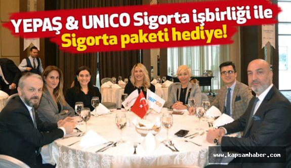 YEPAŞ, Unico Sigorta ile dev bir işbirliğine imza attı
