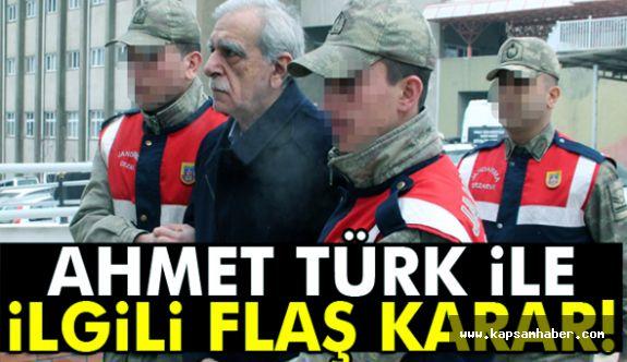 Ahmet Türk, tahliye Edilmeyecek