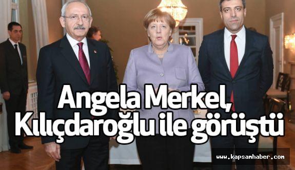Angela Merkel,  Kılıçdaroğlu ile görüştü