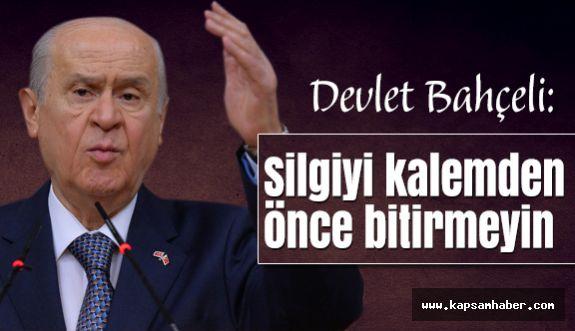 """Bahçeli; Baykal'ı Eleştirdi: """"Halt Ediyor"""""""
