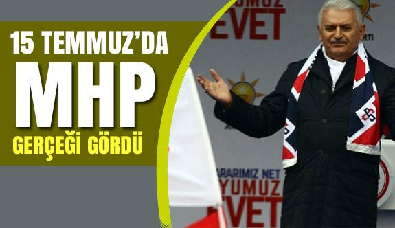 Başbakan'dan MHP'li Belediye'ye ziyaret