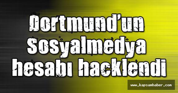Dortmund'un medya hesabı hacklendi