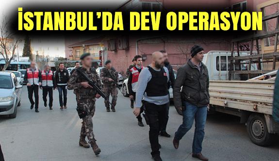 İstanbul'da Polis Ekipleri Dev Uygulama Başlattı