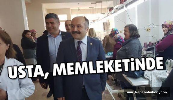 MHP Grup Başkan Vekili Erhan Usta Memleketi Havza'da
