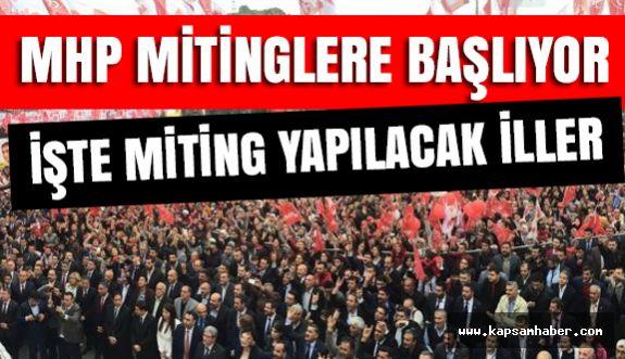 MHP, Hangi İllerde Ne Zaman Referandum Mitingi Yapacak?