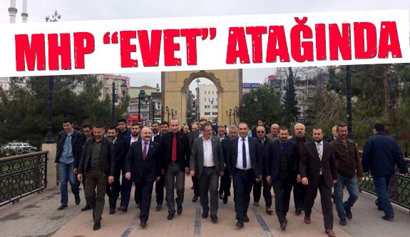 MHP Referandum Çalışmalarına hız verdi