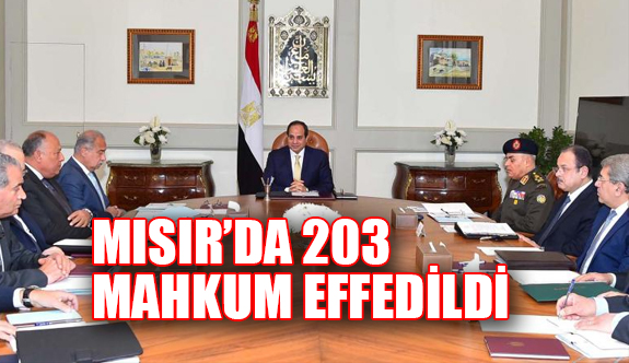 Mısır'da 203 Mahkuma Af Kararı