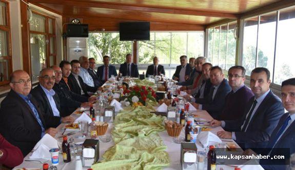 SALİHLİ'DE ULAŞIM İSTİŞARE TOPLANTISI YAPILDI