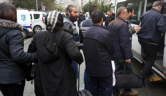 Samsun'da 2 belediye çalışanı tutuklandı