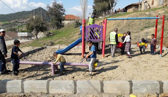 Sivrice'de Çocukların Yüzünü Güldüren Çalışma