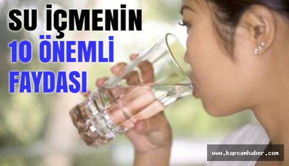 Su içmenin az bilinen çok faydaları!