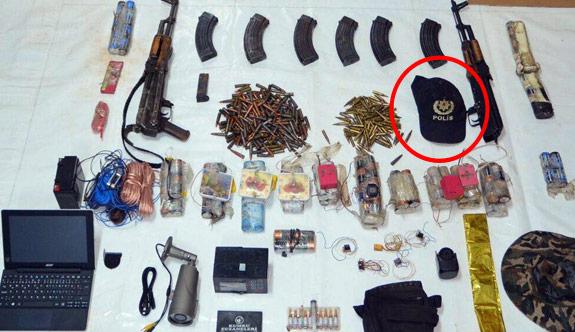 Tunceli'de PKK Sığınağında Cephanelik!
