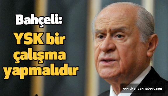 """Bahçeli: """"Milletimiz siyasi Nevruz gününü ilan etmiştir"""""""