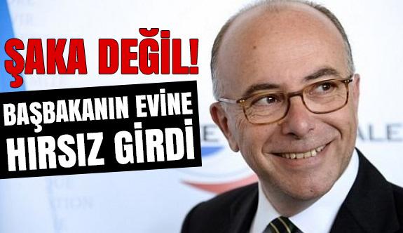 Başbakan Cazeneuve'un  Evine Hırsız Girdi