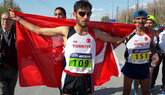 Batmanlı Milli Atlet Selman İlhan Balkan İkincisi Oldu