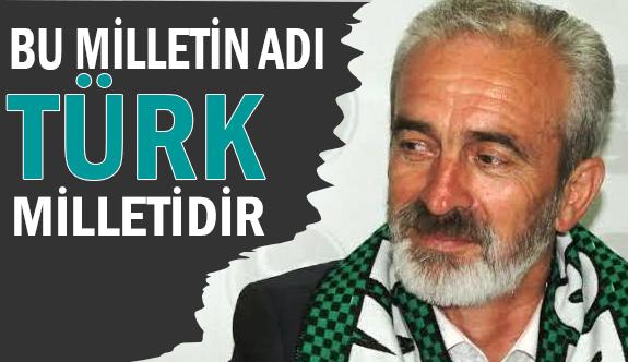 MHP Milletvekili Açba: Bu Milletin Adı Türk Milletidir