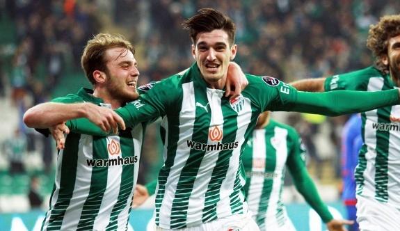 Bursaspor: 3 - Kardemir Karabükspor: 0