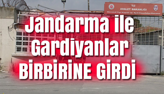 cezaevinde Jandarma ile Gardiyanlar Arasında Kavga.: 3 Yaralı