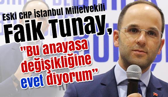 """Eski CHP'li Milletvekili; """"Bu anayasa değişikliğine evet diyorum"""""""