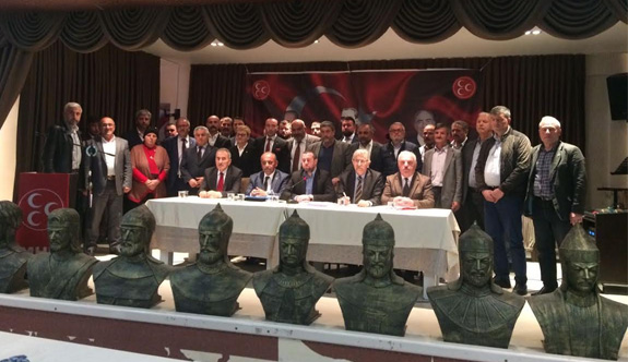 MHP Ladik İlçe Olağan Kongresi  gerçekleşti