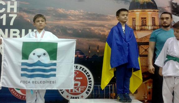 Minik karateci Wsf Dünya Shotokan Karate Turnuvası'na katılacak