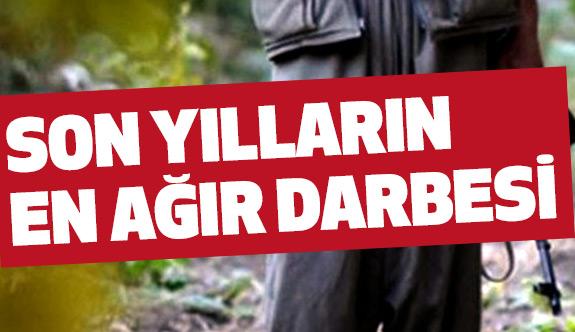 PKK'ya Son Yılların En Büyük Darbesi...